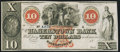 Obsoletes By State:Maryland, Hagerstown, MD- Hagerstown Bank $10 18__ Remainder Choice Crisp Uncirculated.. ...