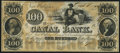 Obsoletes By State:Louisiana, New Orleans, LA- New Orleans Canal & Banking Company $100 Oct. 1, 1845 Remainder Crisp Uncirculated.. ...
