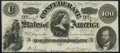 Confederate Notes:1862 Issues, T49 $100 1862 PF-2 Cr. 348 Extremely Fine.. ...