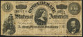 Confederate Notes:1864 Issues, T65 $100 1864 PF-2 Cr. 493 Very Good.. ...