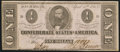 Confederate Notes:1863 Issues, T62 $1 1863 PF-17 Cr. 480 About Uncirculated.. ...