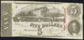 Confederate Notes:1863 Issues, T60 $5 1863 PF-19 Cr. 457 Fine-Very Fine.. ...