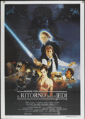 "Movie Posters:Science Fiction, Return of the Jedi (20th Century Fox, 1983). Italian 2 - Folio (39"" X 55""). Science Fiction...."