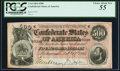 Confederate Notes:1864 Issues, T64 $500 1864 PF-2 Cr. 489 PCGS Choice About New 55.. ...