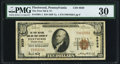 National Bank Notes:Pennsylvania, Fleetwood, PA - $10 1929 Ty. 1 The First NB & TC Ch. # 8939 PMG Very Fine 30.. ...