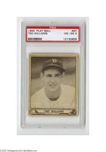 Baseball Cards:Singles (1940-1949), 1940 Play Ball Ted Williams #27 PSA VG-EX 4. The Kid certainlylooks like one in this second-year card offering a great pho...