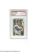 Autographs:Sports Cards, 1952 Bowman Carl Furillo #24, Signed. EX-MT card is signed in strong ink and slabbed by PSA. LOA from Steve Grad & Zach R...