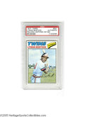 Autographs:Sports Cards, 1977 Topps Lyman Bostock, Signed. VG-EX card is signed in strong ink and slabbed by PSA. Bostock was murdered shortly afte...