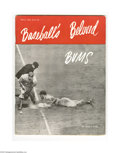 "Baseball Collectibles:Publications, 1947 ""Baseball's Beloved Bums"" Publication with Robinson Insert.Tough eighty-page publication is made all the more desira..."