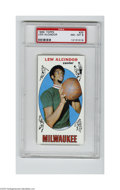 Basketball Cards:Singles (Pre-1970), 1969 Topps Lew Alcindor #25 PSA NM-MT 8. Among the most soughtafter of post-war basketball cards is Kareem's rookie, which...