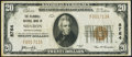 National Bank Notes:Pennsylvania, Sharon, PA - $20 1929 Ty. 1 The McDowell NB Ch. # 8764 Very Fine.. ...