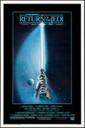 "Movie Posters:Science Fiction, Return of the Jedi (20th Century Fox, 1983) Rolled, Very Fine-. One Sheet (27"" X 41"") Style A, Tim Reamer Artwork. Science F..."