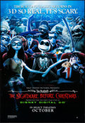 """Movie Posters:Animation, The Nightmare Before Christmas (Walt Disney Pictures, R-2006) Rolled, Very Fine. French Poster (26.75"""" X 38.5"""") SS, 3-D Adva..."""