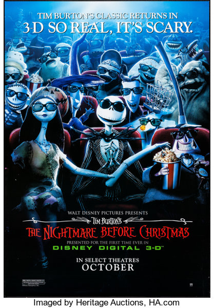 Nightmare Before Christmas In French.The Nightmare Before Christmas Walt Disney Pictures R 2006