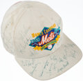 Autographs:Others, 1969 New York Mets Multi-Signed 25th Anniversary Hat (21Signatures)....