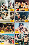"""Movie Posters:Fantasy, Sinbad and the Eye of the Tiger (Columbia, 1977). Very Fine-. LobbyCard Set of 8 (11"""" X 14""""). Fantasy.... (Total: 8 Items)"""