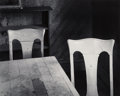 Photographs:Gelatin Silver, John Sexton (American, b. 1953). Two Chairs, Bodie, California, 1977. Gelatin silver, 1987. 10-3/8 x 12-7/8 inches (26.4...