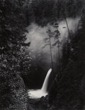 Photographs:Gelatin Silver, David Muench (American, 20th Century). Eagle Creek Gorge, Columbia River Gorge, Oregon, 1971. Gelatin silver, 1982. 19-1...