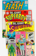 Silver Age (1956-1969):Superhero, 80 Page Giant #9-15 Group (DC, 1965) Condition: Average FN...