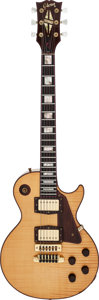 Musical Instruments:Electric Guitars, 1977 Gibson The Les Paul Natural Solid Body Electric Guitar, Serial # 40....