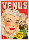 Golden Age (1938-1955):Romance, Venus #2 (Timely, 1948) Condition: GD/VG....