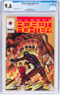 Modern Age (1980-Present):Science Fiction, Magnus Robot Fighter #13 (Valiant, 1992) CGC NM+ 9.6 Whitepages....