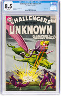 Silver Age (1956-1969):Adventure, Challengers of the Unknown #11 (DC, 1959) CGC VF+ 8.5 White pages....
