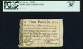 Colonial Notes:North Carolina, North Carolina December, 1771 £2 PCGS About New 50.. ...