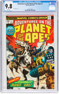 Bronze Age (1970-1979):Miscellaneous, Adventures on the Planet of the Apes #1 (Marvel, 1975) CGC NM/MT9.8 White pages....