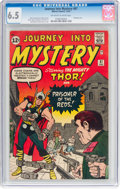 Silver Age (1956-1969):Superhero, Journey Into Mystery #87 (Marvel, 1962) CGC FN+ 6.5 Off-white towhite pages....