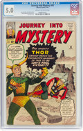 Silver Age (1956-1969):Superhero, Journey Into Mystery #92 (Marvel, 1963) CGC VG/FN 5.0 Cream tooff-white pages....