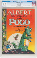 Golden Age (1938-1955):Funny Animal, Four Color #148 Albert the Alligator and Pogo the Possum (Dell, 1947) CGC VF+ 8.5 Off-white pages....