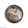 Seated Dimes: , 1853 10C Arrows MS69 S NGC....