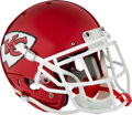 Football Collectibles:Helmets, 2017-18 Tyreek Hill Game Worn Kansas City Chiefs Helmet - Photo Matched to Wildcard Playoff Game vs. Titans!...