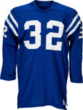 Football Collectibles:Uniforms, 1970-72 Mike Curtis Game Worn Baltimore Colts Jersey. ...