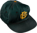 Football Collectibles:Uniforms, 1960's Vince Lombardi Game Worn Green Bay Packers Coach's Cap from The Domenic Gentile Collection....