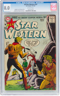 Silver Age (1956-1969):Western, All Star Western #97 (DC, 1957) CGC VF 8.0 Off-white pages....