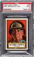 Non-Sport Cards:General, 1952 Topps Look 'N See Gen. George Patton #39 PSA Mint 9 - NoneHigher. ...