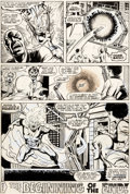 Original Comic Art:Panel Pages, Dave Cockrum and Bob Layton X-Men #105 Story Page 17 PhoenixOriginal Art (Marvel, 1977)....