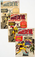 Silver Age (1956-1969):Superhero, Daredevil Group of 7 (Marvel, 1964-71) Condition: Average GD....(Total: 7 Items)