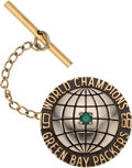 Football Collectibles:Others, 1967 Green Bay Packers Super Bowl I Championship Tie Bar from The Domenic Gentile Collection. ...