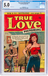 True Love Pictorial #11 (St. John, 1954) CGC VG/FN 5.0 Off-white to white pages
