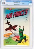 Golden Age (1938-1955):War, The American Air Forces #1 Carson City Pedigree (Wm. H. Wi...