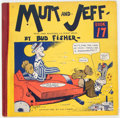 Platinum Age (1897-1937):Miscellaneous, Mutt and Jeff Book 17 (Cupples & Leon, 1932) Condition:VG/FN....