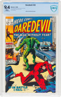 Silver Age (1956-1969):Superhero, Daredevil #50 (Marvel, 1969) CBCS NM 9.4 White pages....