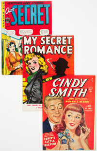 Golden Age Romance Comics Group of 9 (Various Publishers, 1950) Condition: Average VF-.... (Total: 9 Comic Books)