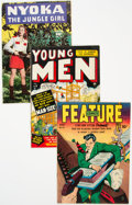 Golden Age (1938-1955):Miscellaneous, Golden Age Comics Group of 8 (Various Publishers, 1943-52).... (Total: 8 Comic Books)