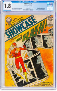 Showcase #4 The Flash (DC, 1956) CGC GD- 1.8 Cream to off-white pages