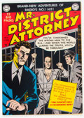 Golden Age (1938-1955):Crime, Mr. District Attorney #14 (DC, 1950) Condition: VF+....