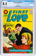 Silver Age (1956-1969):Romance, First Love Illustrated #83 File Copy (Harvey, 1957) CGC VF+ 8.5Light tan to off-white pages....